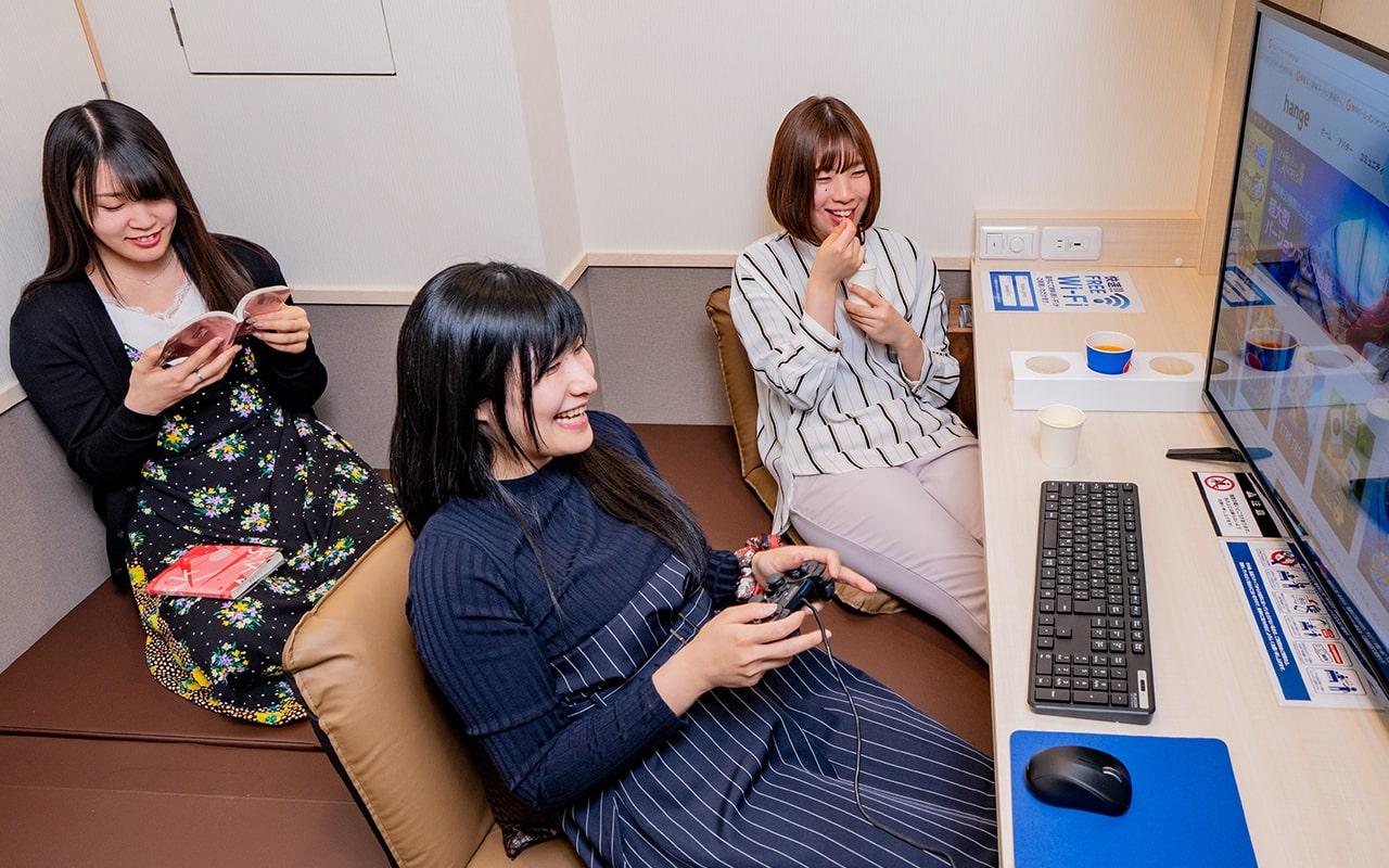 川崎市内最大級のインターネットカフェBAA@SE